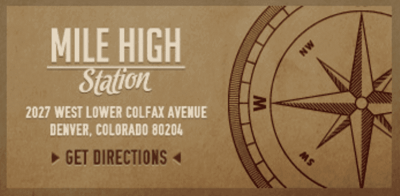 Mile High Station Address