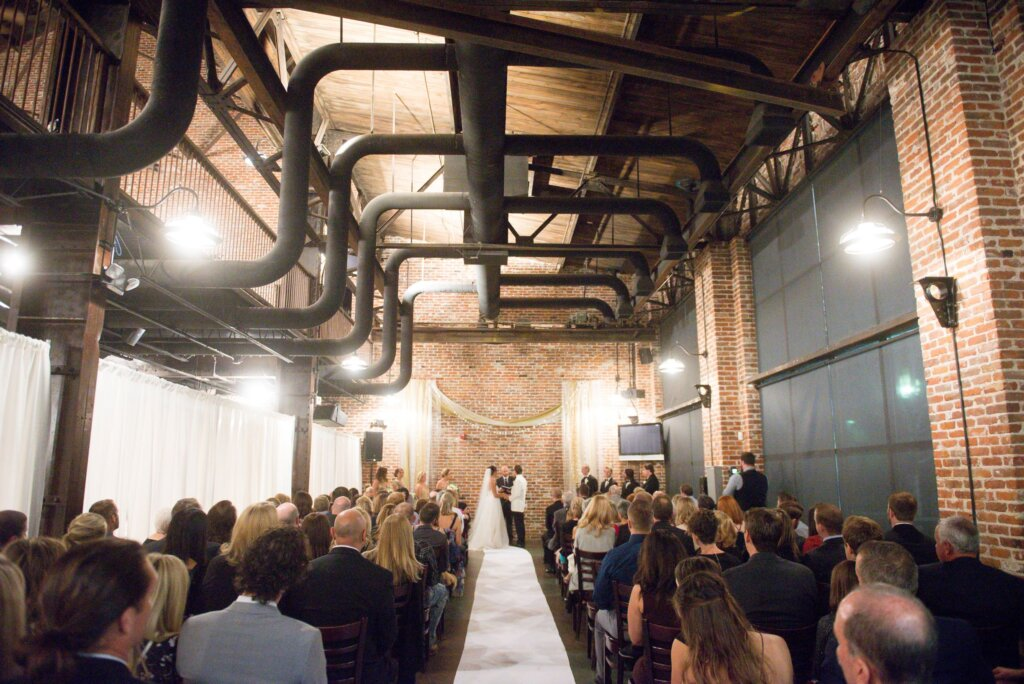 Wedding Ceremony Downtown Denver Mile High Station 1024x684